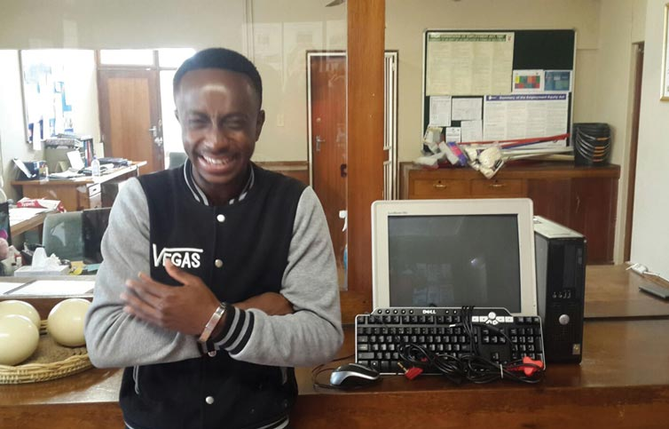Compuworx enabled this young man to study