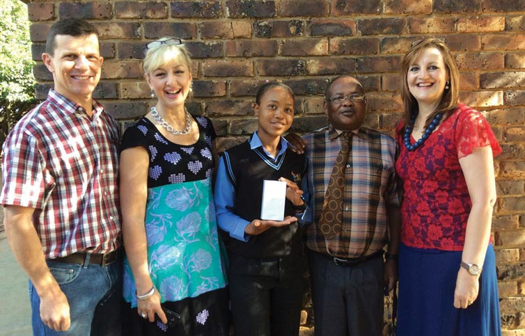 Apple in Education awarded Learner From Mlilo School