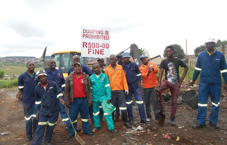 Kempville Clean-up A Huge Success