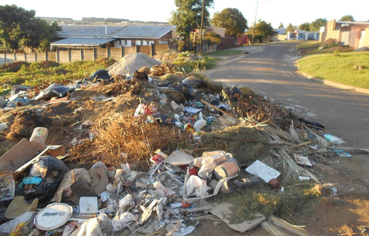 Residential Area Becoming a Dump Site