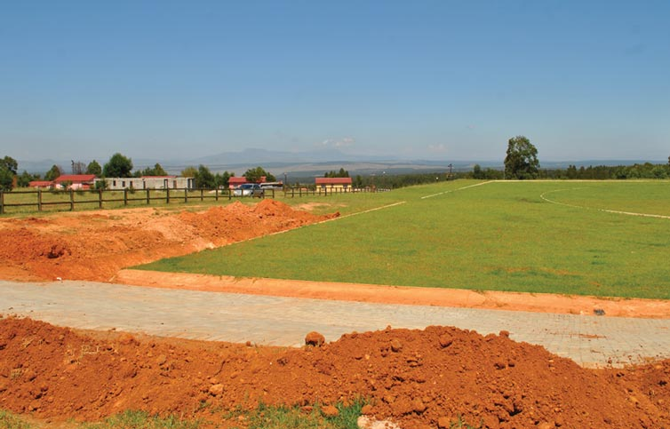 New Sports Facility at Maphepheni Village