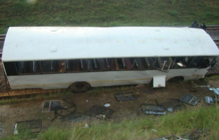 Bus Carrying Scholars Involved in Accident