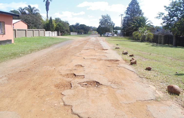 condition of our roads