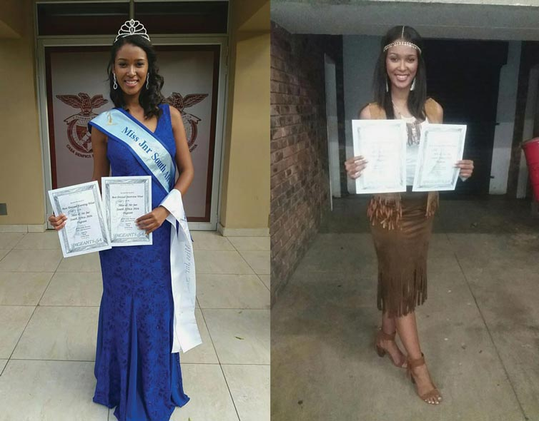 Andrea Abrahams Miss 7 Continents