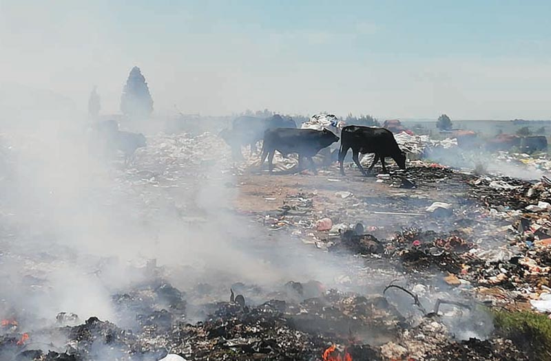 The state of Mpumalanga's landfill sites