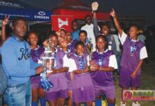 Third cup title win for Buhlebuzile Secondary School