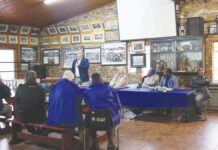 Public meeting on land expropriation without compensation