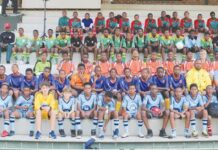 Five schools participate in soccer tournament