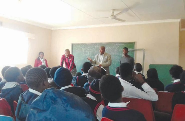 Crime Awareness Campaign in Panbult