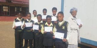 """Maths for All"" certificates handed over"