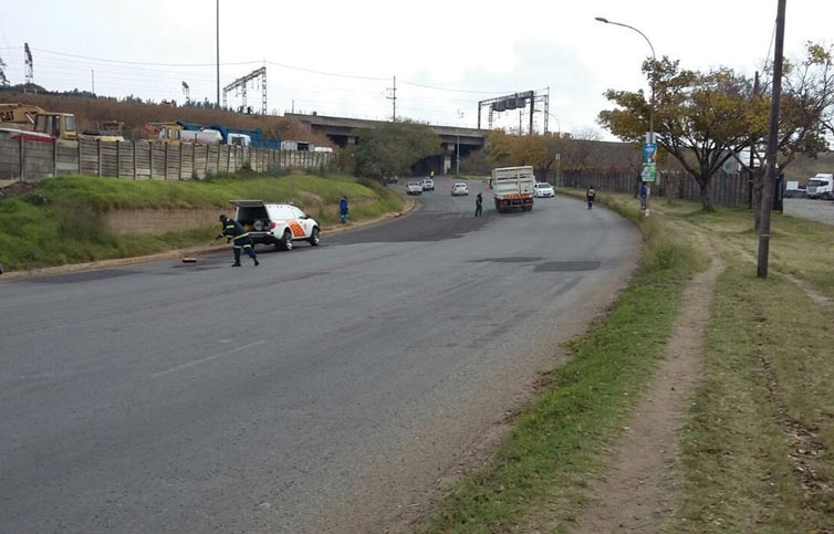 Repaired Road Causes Multiple Accidents