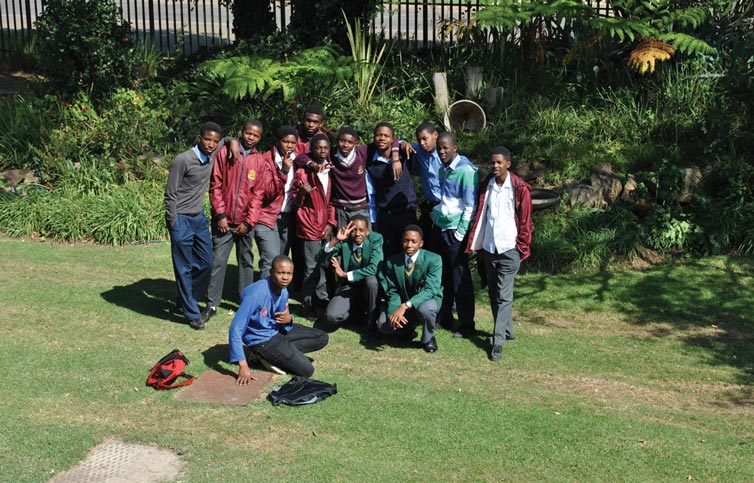 Some of the U/18 boys who participated in the elimination round on 27 April