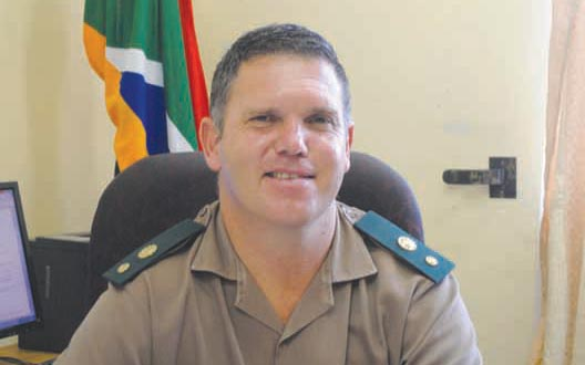 Mr Christiaan Vosloo, the new Head of Correctional Services