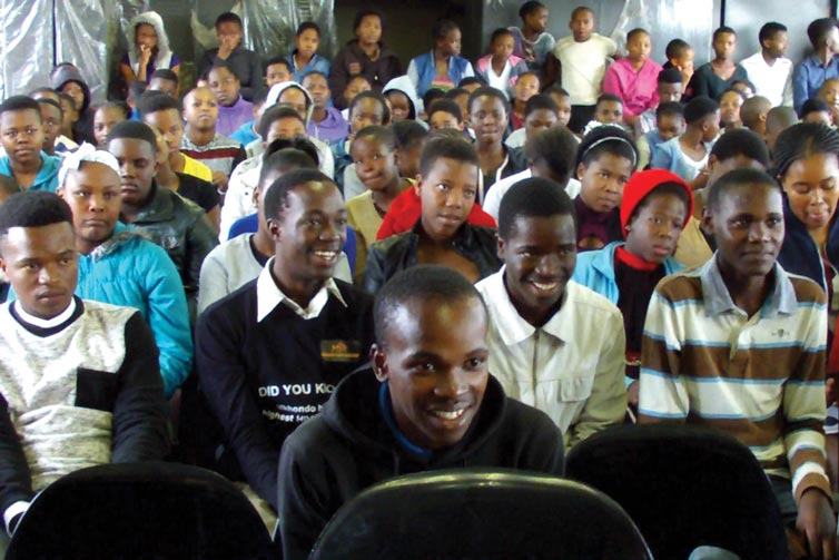 A part of the audience at Kwashuku
