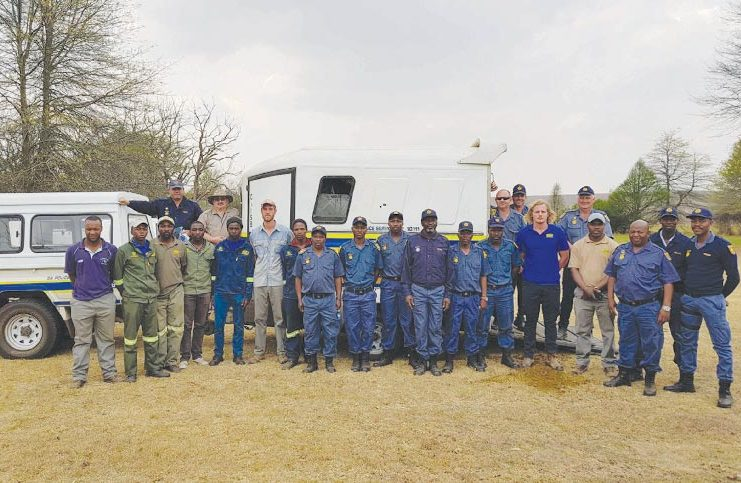 A joint SAPS operation was conducted with members from the Mounted Police, K9 Unit, Station Commanders and the Wakkerstroom Reservists Unit