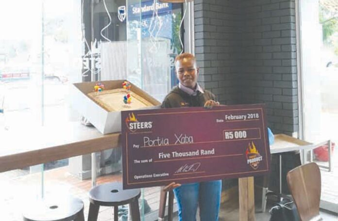 Portia is SA's Best Burger Builder