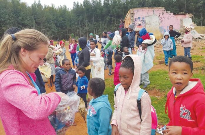 Stephanie Maritz, making a difference