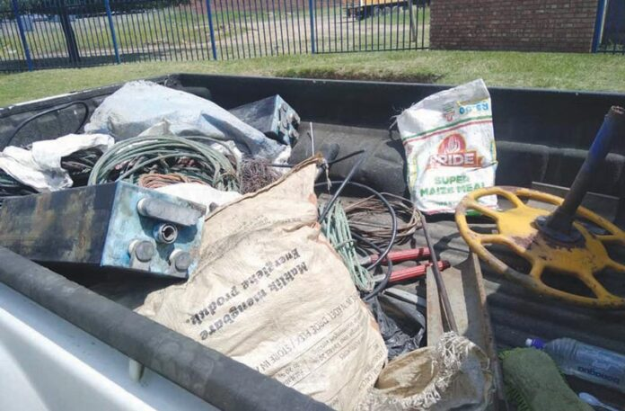 Copper cable suspects arrested