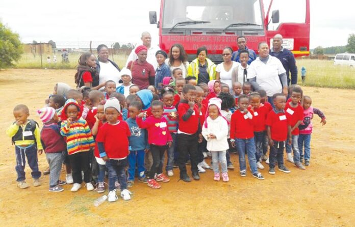 Children's Advocacy Campaign in Iswepe