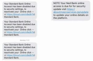 Bank Fraud SMS