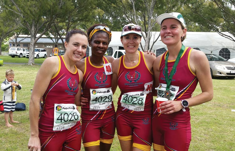 SA 42km Womens team 2015