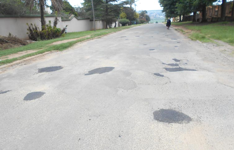Kempville Roads Are Being Patched