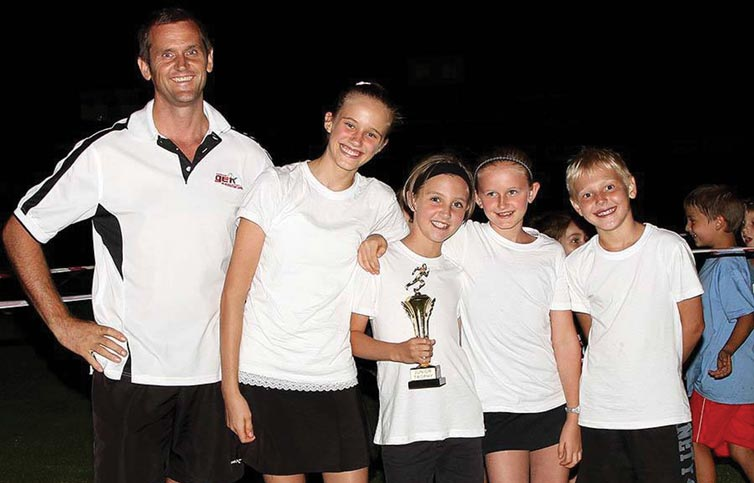 Supa Quick kids - junior winners