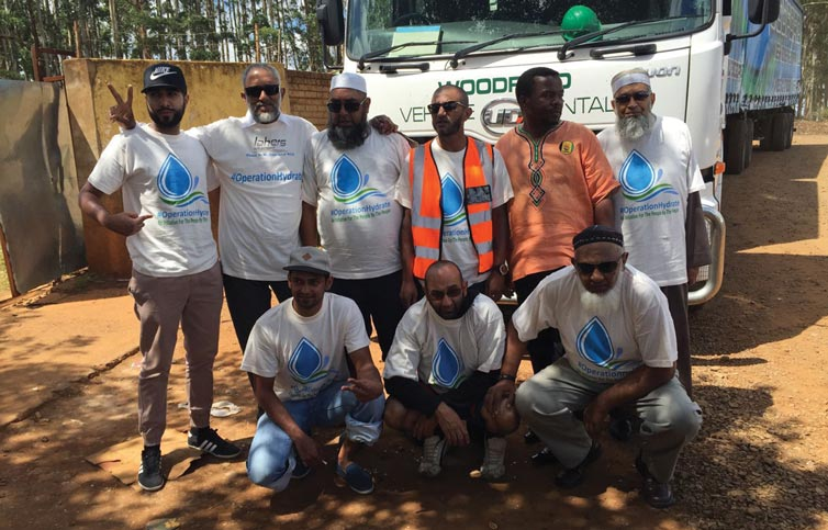 Pieties assist Operation Hydrate