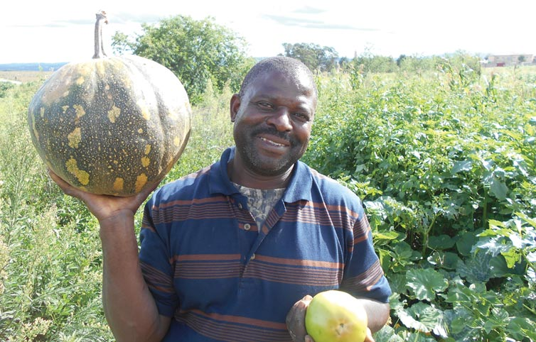 Vegetable Farmer Assists the Underprivileged