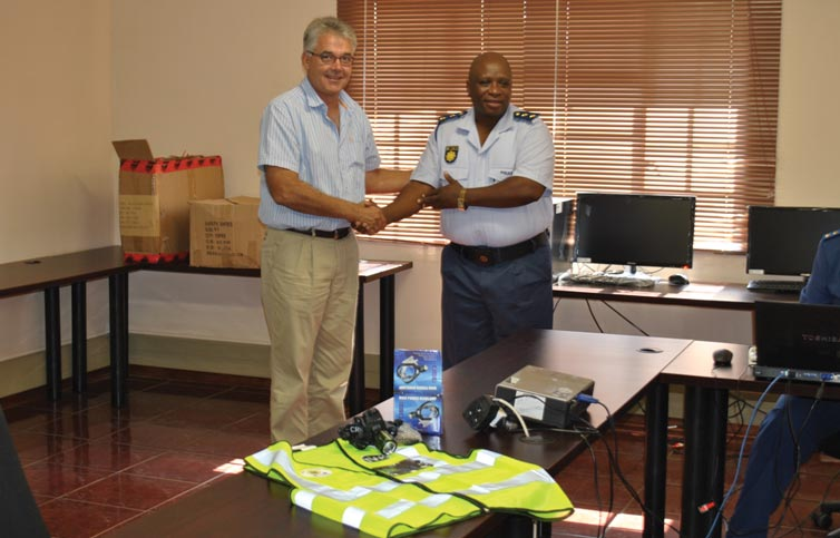 TWK Lends Hand to CPF and SAPS