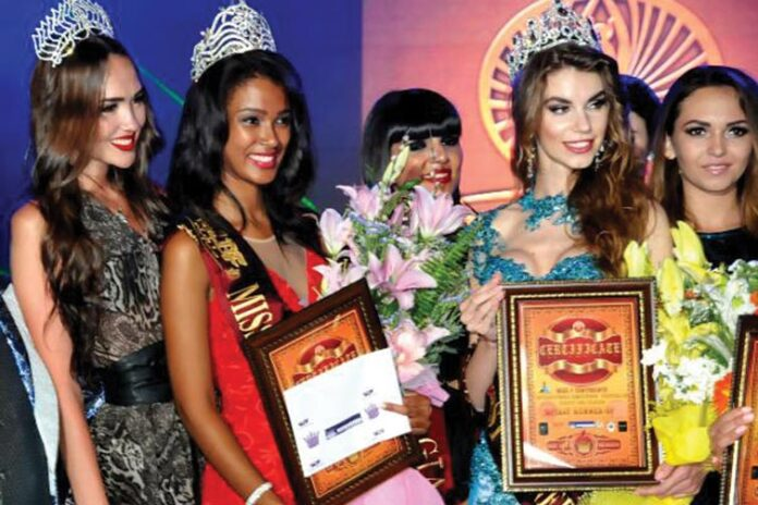 Andrea Abrahams Crowned as Miss 7 Continents