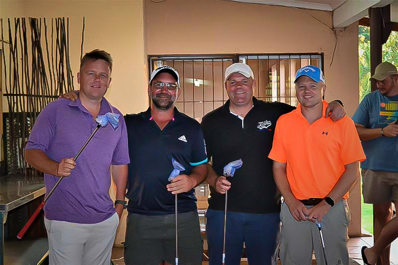 Big Hearts Foundation Golf day prize giving