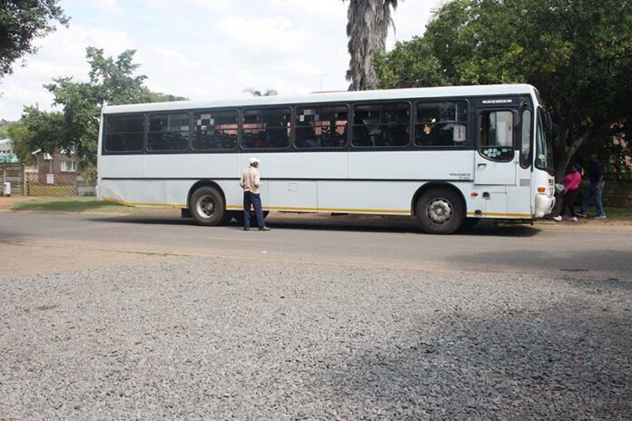 traffic, Busses cause traffic in Kruger Street, Mpumalanga News - Excelsior, Mpumalanga News - Excelsior