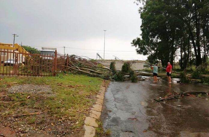 Destructive Storm In Piet Retief