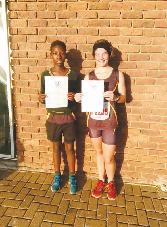 HPR athletes compete in cross country trials
