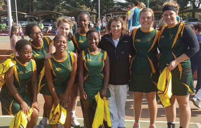 Second Netball Team's Performance