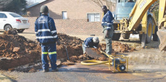Five burst water pipes in a week