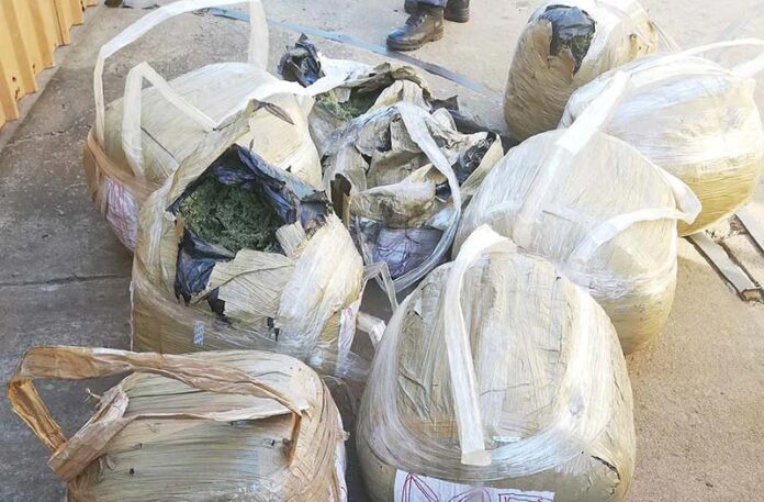 Dagga confiscated