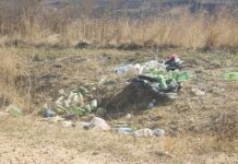 Dumping; no respect for environment