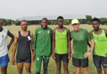 Parkrun with Bruce Fordyce