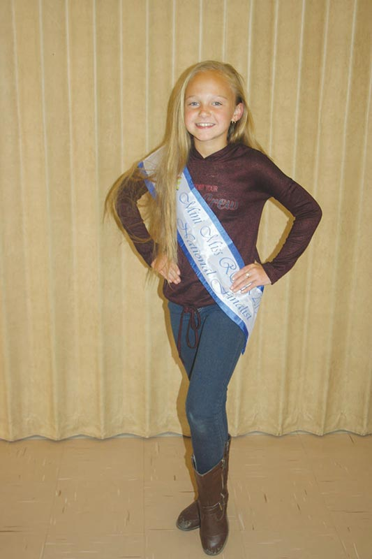 Mini Miss RSA-finalis - Karla Botha
