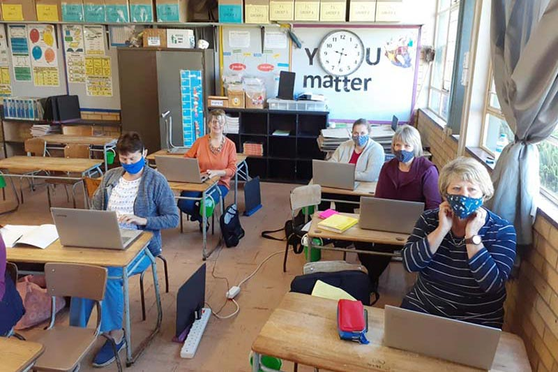 Piet Retief Primary School to continue classes via Google Classroom