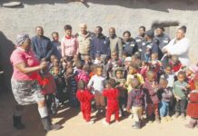 Lungisani Edu-Care Centre celebrates 67 minutes with Timrite