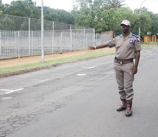 Mkhondo traffic officers ensuring safety