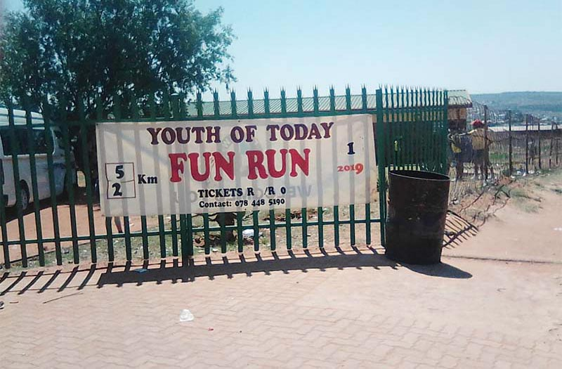 Youth of Today fun run