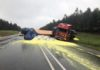 Heavy rains in Piet Retief Mpumanlanga Truck accident
