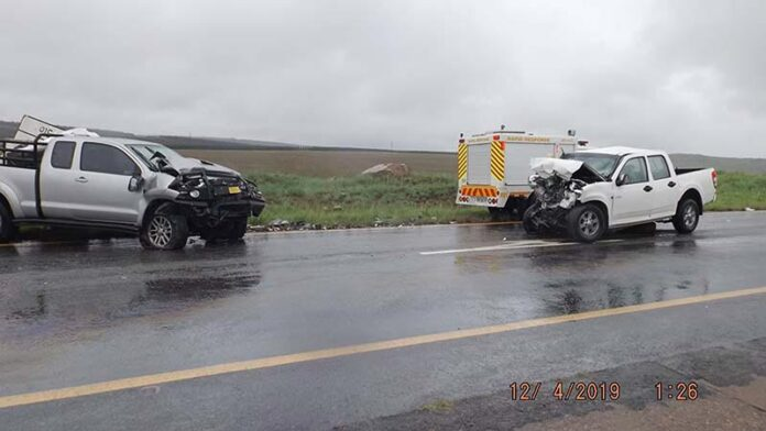 Head-on collisions car accident Piet Retief