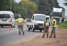 Festive season roadblock
