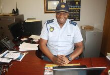 New Station Commander for the Mkhondo SAPS