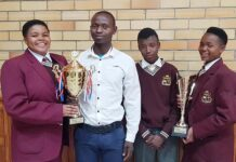 Ndlela Secondary School's learners win EMS quiz